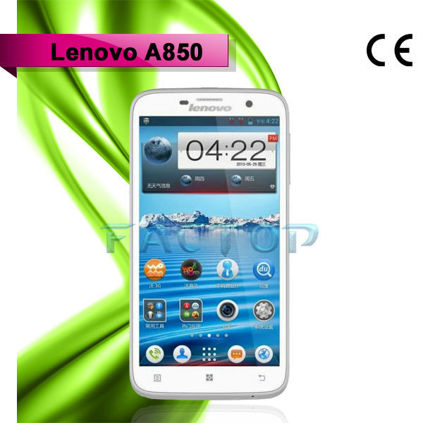 lenovo a850 dual sim card ram 1gb rom 4gb hot sale quad core smart charger for mobile phone