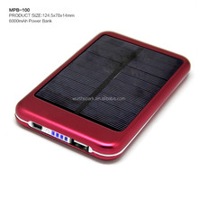 2017 best selling products battery solar power bank charger for mobile phone