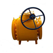 High Pressure Carbon Trunnion Floating Industry Stainless Steel Ball Valve