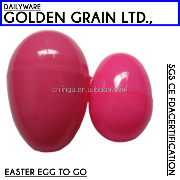 plastic gift party large easter eggs