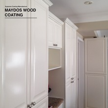 Wood doors colors polyester lacquer varnish