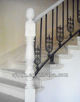 Most popular railings concrete stairs of Wrought iron