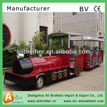 Attractive Amusement Park Rides Electric Diesel Trackless Train Tourist Train