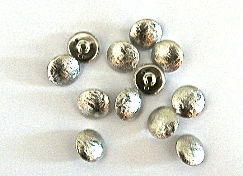 12 Reproduction Waffen SS Pebbled Grained Uniform Buttons
