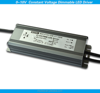 220vac 12vdc 24vdc 150W 0-10V pwm dimmable constant voltage led driver for led strip
