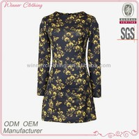 women's clothing OEM/ODM manufacturing new model girl dress 2014