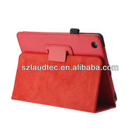 Stand Flip PU Leather Case for iPad Mini Gen 2 Stand Flip PU Case