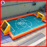 human foosball inflatable, new inflatable soccer field
