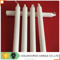 paraffin wax of 58 to 60 degree melting point white stick candles
