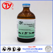 2015 Antibacterial Medicine Tiamulin 10% Injection for Veterinary Use medicine price list