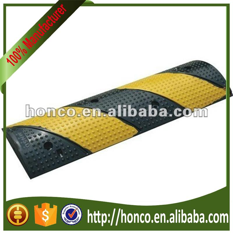 Hot selling rubber speed bump with CE certificate HC-YD01