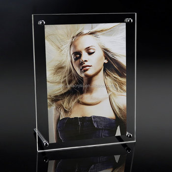 Acrylic Photo Frame with Standoff Hardwork