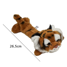 Customize Stuffed Tiger Plush rattle Toys