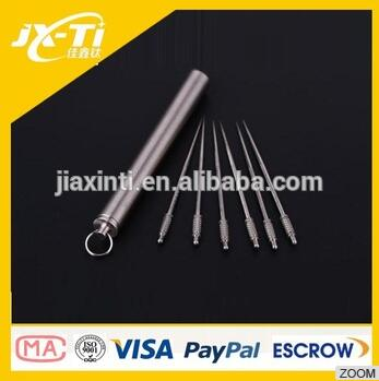hot new product Titanium toothpick for sale with high qulity