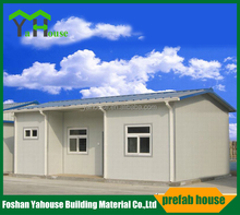 Chinese low cost Steel Prefabricated Home Steel Villa Mobile House with slope roof