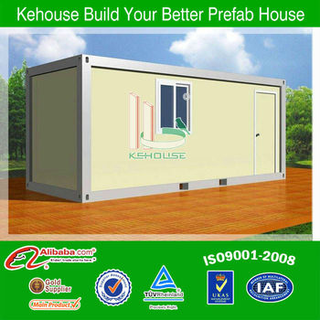 Cheap fabricated full finished 20ft container house
