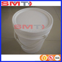 PP cheap milk pail 5l plastic buckets for paints with lid