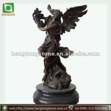 Bronze Angel Statue Carving
