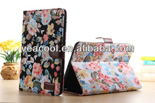 New Flower Jeans PU Leather Case Cover for Apple iPad Mini 2 Stand Case