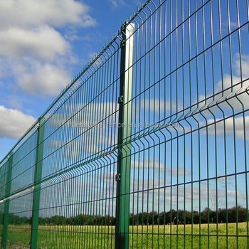 CE certified V-folds Welded Wire Fence