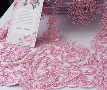 New Design -Wedding fabric -embroidery fabric-embroidered fabric