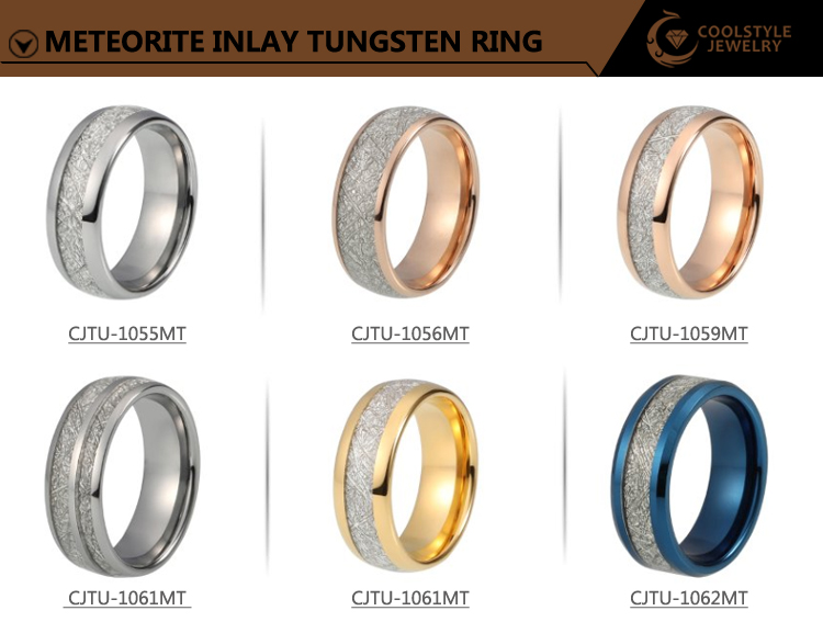 8mm new designs for men and women gold and silver dome band engagement ring