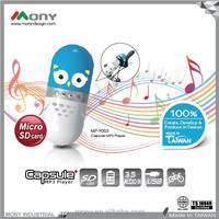 Cute Capsule SD card 32GB Mp3 player
