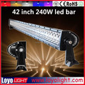 "Promotion off road led light bar 4x4 42"" offroad led bar 240W kelvin led light bar"