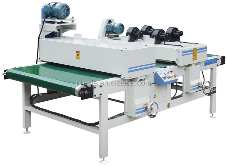 High quality sophisticated utility polishing machine to polish melamine paper