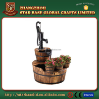 Customized size beautiful garden decoration resin large water fountain