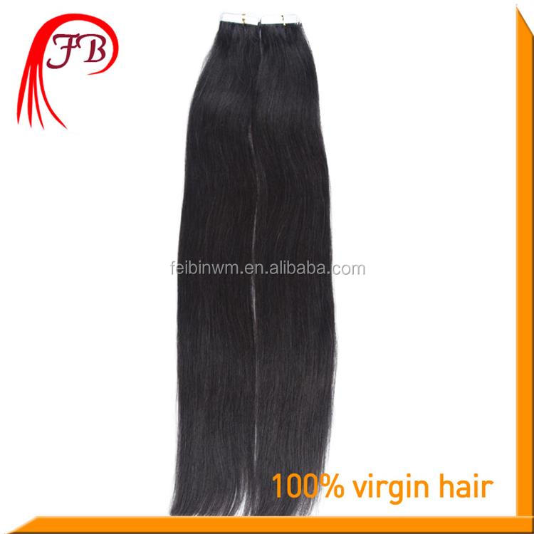 Russian human hair bulk tape in hair extensions buy cheap human hair
