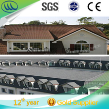 factory selling popular Stone Coated Roof Tile / Aluminum Zinc Roofing