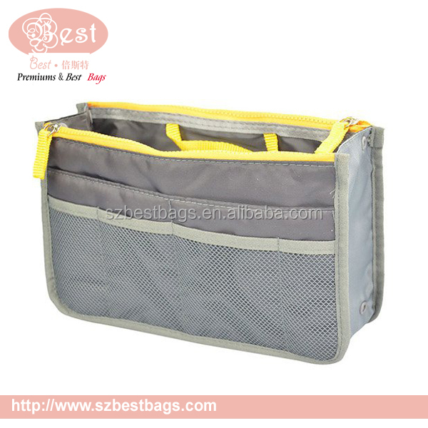 600D nylon handbag organizer with compartment
