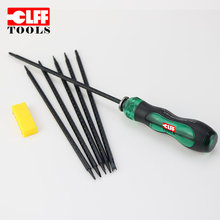 Customized service adjustable pocket precision multi function 2 head 12 types bits S2 steel screwdriver set
