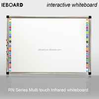 dual touch infrared interactive whiteboard,SKD IR sensors assemble/ smart board