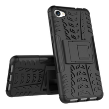 Hybrid Shockproof Kick Stand PC TPU Dazzle Phone Case Cover Case For Alcatel A5 LED
