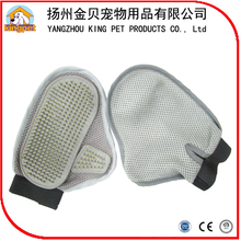 Promotional product China factory soft rubber dog cleaning glove grooming bath tool for sale