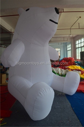inflatable giant pole bear / giant inflatable bear for advertising