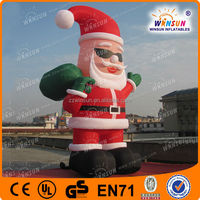 inflatable christmas decoration/outdoor christmas inflatable cartoon