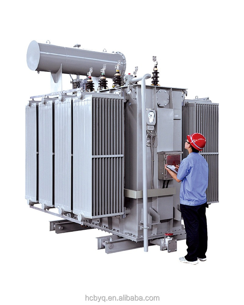 S11 oil type core stack power distribution transformer