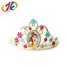 Beautiful Hair Accessories Plastic Princess Crown For Girls