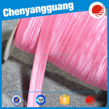 CYG-glitter fold over elastic only for garment design