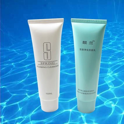 Disposable hotel amenities tube style cosmetic