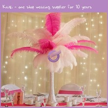 QT00025 Hot sale wedding event centerpiece synthetic ostrich feathers