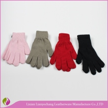 Acrylic magic stretch gloves Neon color gloves