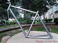 xacd made titanium mtb bike frame 26er titanium bicycle frame sand blast finished titanium mtb bike frame