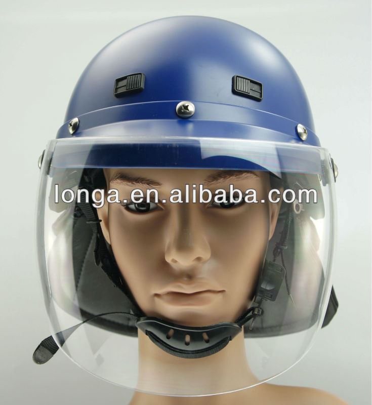 Police safe helmet used in police and motorcycle in China