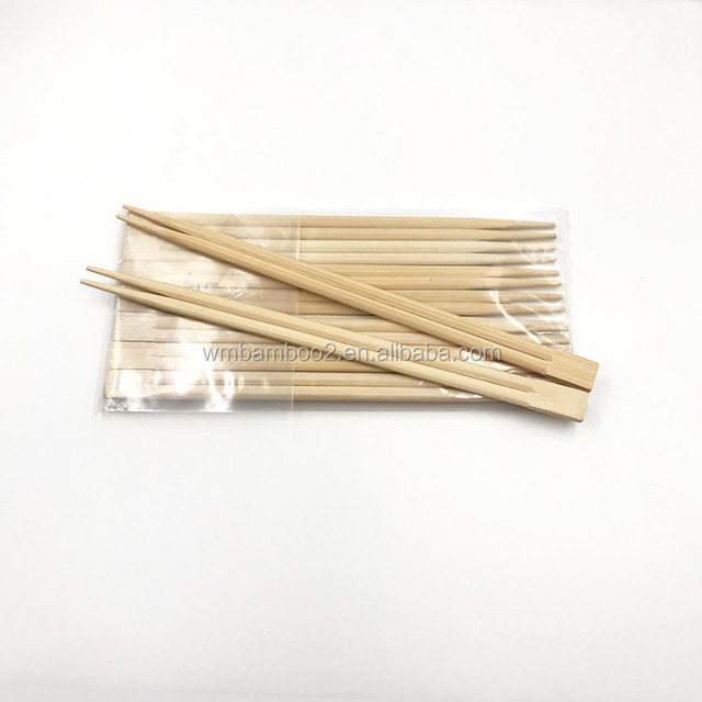 Factory direct chinese disposable cheap bamboo twin together chopsticks