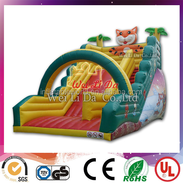 Large/small Air Filled Inflatable Slide