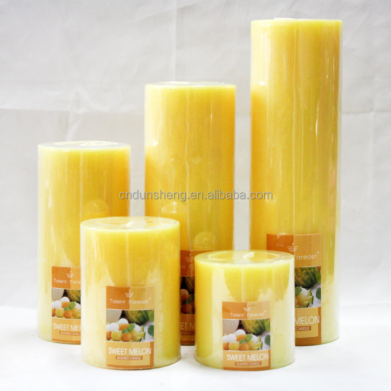theme party decorations pillar portable wax warmer candle